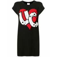 Ultràchic Camiseta Com Estampa Gráfica - Preto