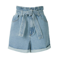 Eva Short Jeans Clochard - Azul