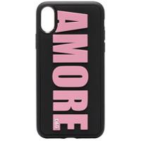 Dolce & Gabbana Capa Para Iphone X 'amore' - Preto