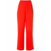 Layeur Calça Cintura Alta - Vermelho