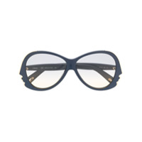 Chloé Óculos De Sol Com Armação Infinita - Azul