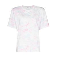 Frankie Shop Camiseta Matelassê Tie-Dye - Azul