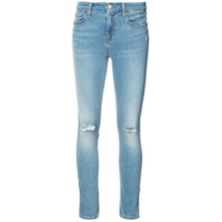 7 For All Mankind Calça Jeans Skinny - Marrom