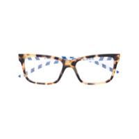 Prada Eyewear Armação De Óculos Quadrada - Marrom