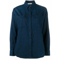 Vince Camisa Jeans - Azul