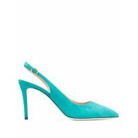 Pollini Sapato Com Tira Posterior - Azul
