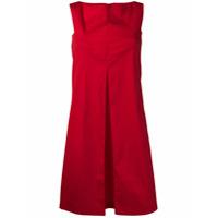 Antonelli Vestido Sem Mangas - Vermelho