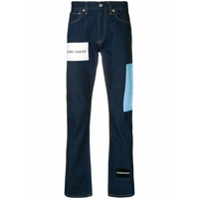 Calvin Klein Jeans Calça Jeans Com Logo - Azul