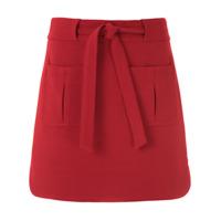 Egrey Saia Curta Com Amarração - Vermelho