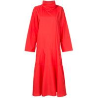 Sofie D'hoore Vestido Estruturado - Vermelho