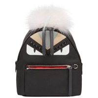 Fendi Mochila Mini 'bag Bugs' - Preto