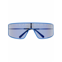 Stella Mccartney Óculos De Sol Com Aplicações E Logo - Azul