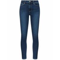 Paige Calça Jeans Skinny Muse Cintura Alta - Azul