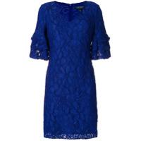 Lauren Ralph Lauren Vestido Floral - Azul