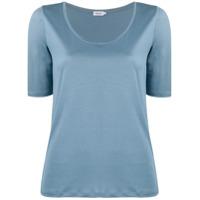 Filippa K Camiseta Gola U - Azul