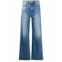 Frame Calça Jeans Pantalona Le California Heritage Cintura Média - Azul