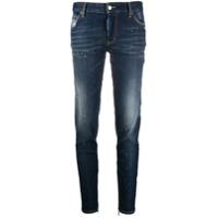 Dsquared2 Calça Jeans Slim Com Efeito Respingos De Tinta - Azul