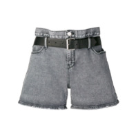 Rta Koko Denim Shorts - Cinza