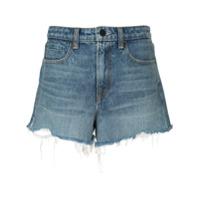 Alexander Wang Short Jeans - Azul