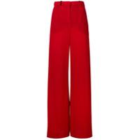 Lanvin Calça De Alfaiataria Flare - Vermelho
