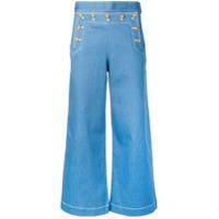 Tory Burch Calça Pantalona - Azul