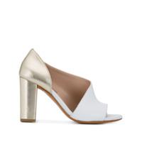 Albano Sapato Com Abertura Posterior - Branco