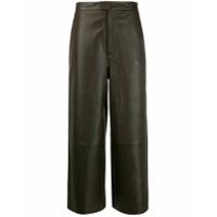 Remain Calça Pantalona Cintura Alta - Verde