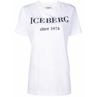 Iceberg Logo T-Shirt - Branco