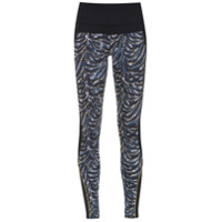 Track & Field Calça Legging 'escape' Estampada - Preto