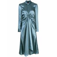 Sies Marjan Vestido Nara Com Detalhe Franzido - Verde