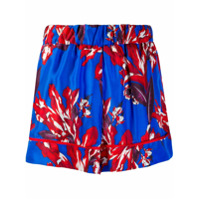 P.a.r.o.s.h. Short Com Estampa Tropical - Azul