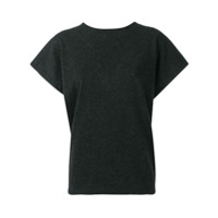 Salvatore Ferragamo Short Sleeve Sweater - Cinza