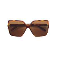 Saint Laurent Eyewear Óculos De Sol 'new Wave 232 Betty' - Marrom