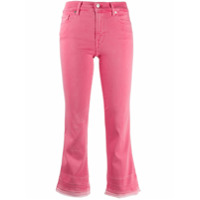 7 For All Mankind Calça Jeans Bootcut Cropped - Rosa
