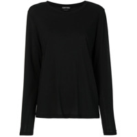 Tom Ford Camiseta Mangas Longas - Preto