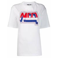 Mcq Alexander Mcqueen Logo Print T-Shirt - Branco