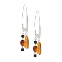 Bar Jewellery Par De Brincos Rise - Prateado