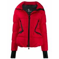 Moncler Grenoble Padded Hooded Jacket - Vermelho