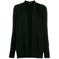Antonelli Draped Knitted Cardigan - Preto