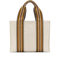 Loro Piana Striped Tote Bag - Neutro