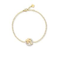 Nouvel Heritage Pulseira Luck De Ouro 18K Com Diamante - Dourado