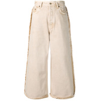 Acne Studios Calça Pantalona Jeans - Ads-Almond Brown