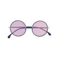 Paul Smith Eyewear Óculos De Sol Redondo - Azul