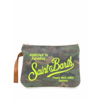 Mc2 Saint Barth Clutch Parisienne Com Estampa Camuflada - Verde