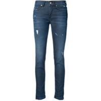 Dondup Calça Jeans Skinny Destroyed - Azul