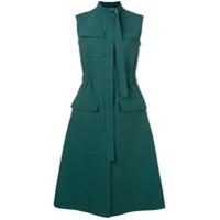 Cédric Charlier Vestido Midi - Verde