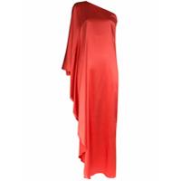 Taller Marmo Vestido Longo Ombro Único Ubud - Rosa