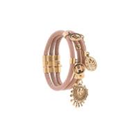 Chloé Bracelete Com Aplicações - Rosa