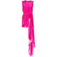 Halpern Vestido Assimétrico - Rosa