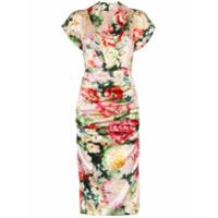 Dolce & Gabbana Vestido Midi Floral - 108 - Multicoloured
